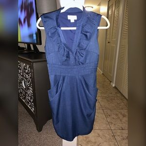 Jessica Simpson Blue Dress with Pockets